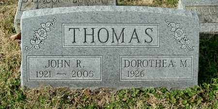 THOMAS, JOHN R - Gallia County, Ohio | JOHN R THOMAS - Ohio Gravestone Photos