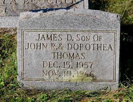 THOMAS, JAMES D - Gallia County, Ohio | JAMES D THOMAS - Ohio Gravestone Photos