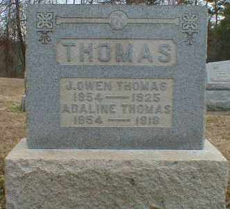 THOMAS, J. - Gallia County, Ohio | J. THOMAS - Ohio Gravestone Photos