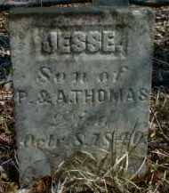 THOMAS, JESSE - Gallia County, Ohio | JESSE THOMAS - Ohio Gravestone Photos