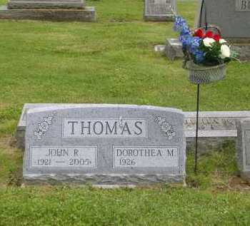 THOMAS, JOHN RICHARD - Gallia County, Ohio | JOHN RICHARD THOMAS - Ohio Gravestone Photos