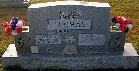 THOMAS, ANN B - Gallia County, Ohio | ANN B THOMAS - Ohio Gravestone Photos