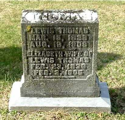 THOMAS, LEWIS - Gallia County, Ohio | LEWIS THOMAS - Ohio Gravestone Photos
