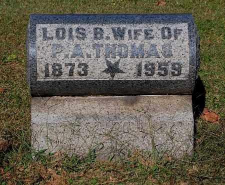 THOMAS, LOIS B - Gallia County, Ohio | LOIS B THOMAS - Ohio Gravestone Photos