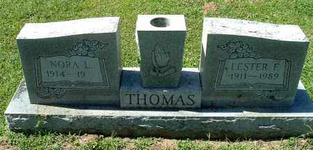 THOMAS, NORA L - Gallia County, Ohio | NORA L THOMAS - Ohio Gravestone Photos