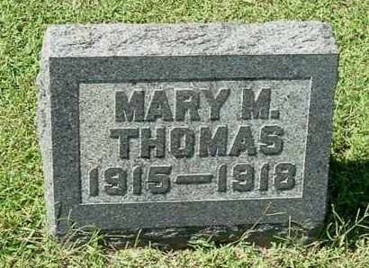 THOMAS, MARY MARIE - Gallia County, Ohio | MARY MARIE THOMAS - Ohio Gravestone Photos