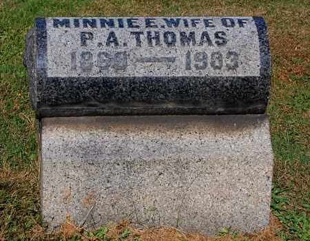 THOMAS, MINNIE E - Gallia County, Ohio | MINNIE E THOMAS - Ohio Gravestone Photos