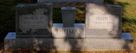 THOMAS, MARION F - Gallia County, Ohio | MARION F THOMAS - Ohio Gravestone Photos