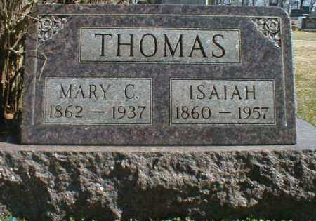 WILT THOMAS, MARY - Gallia County, Ohio | MARY WILT THOMAS - Ohio Gravestone Photos