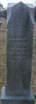 THOMAS, MASSIE - Gallia County, Ohio | MASSIE THOMAS - Ohio Gravestone Photos