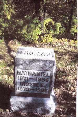THOMAS, NATHANIEL - Gallia County, Ohio | NATHANIEL THOMAS - Ohio Gravestone Photos