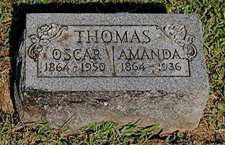 THOMAS, AMANDA - Gallia County, Ohio | AMANDA THOMAS - Ohio Gravestone Photos