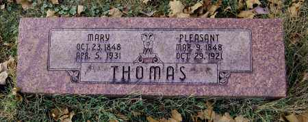 THOMAS, PLEASANT - Gallia County, Ohio | PLEASANT THOMAS - Ohio Gravestone Photos