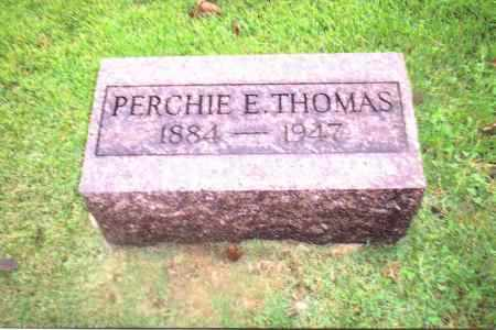 THOMAS, PERCHIE E. - Gallia County, Ohio | PERCHIE E. THOMAS - Ohio Gravestone Photos