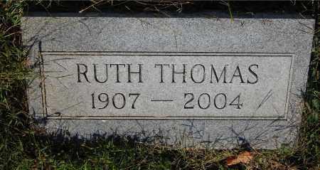 THOMAS, RUTH - Gallia County, Ohio | RUTH THOMAS - Ohio Gravestone Photos