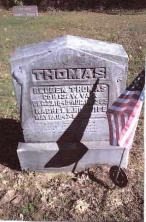 THOMAS, RACHEL E. - Gallia County, Ohio | RACHEL E. THOMAS - Ohio Gravestone Photos