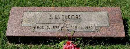 THOMAS, S. W. - Gallia County, Ohio | S. W. THOMAS - Ohio Gravestone Photos