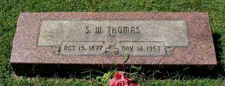 THOMAS, S. W. - Gallia County, Ohio   S. W. THOMAS - Ohio Gravestone Photos