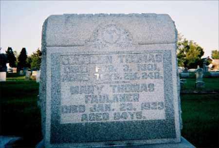 THOMAS, SOLOMON - Gallia County, Ohio | SOLOMON THOMAS - Ohio Gravestone Photos