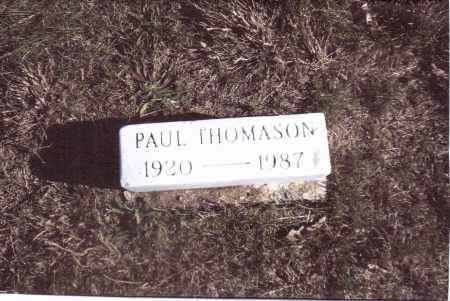 THOMASON, PAUL - Gallia County, Ohio | PAUL THOMASON - Ohio Gravestone Photos