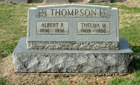THOMPSON, ALBERT R - Gallia County, Ohio | ALBERT R THOMPSON - Ohio Gravestone Photos