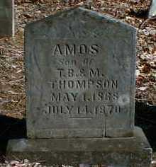 THOMPSON, AMOS - Gallia County, Ohio | AMOS THOMPSON - Ohio Gravestone Photos