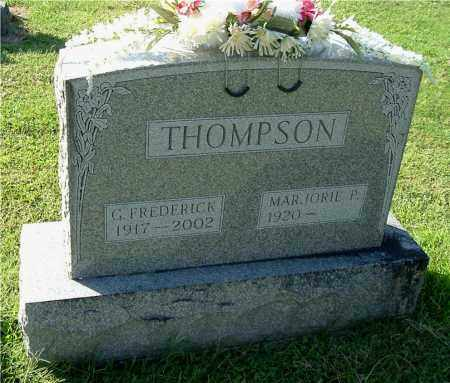 THOMPSON, MARJORIE P - Gallia County, Ohio | MARJORIE P THOMPSON - Ohio Gravestone Photos