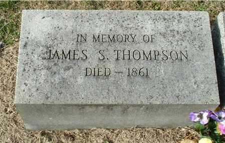 THOMPSON, JAMES S - Gallia County, Ohio | JAMES S THOMPSON - Ohio Gravestone Photos