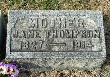 THOMPSON, JANE MARJORY - Gallia County, Ohio | JANE MARJORY THOMPSON - Ohio Gravestone Photos