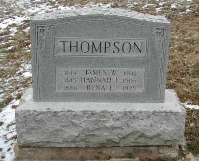 THOMPSON, JAMES W. - Gallia County, Ohio | JAMES W. THOMPSON - Ohio Gravestone Photos