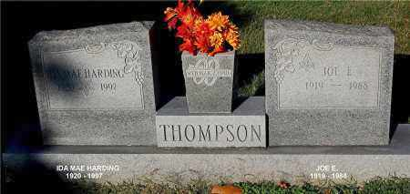 THOMPSON, JOE E - Gallia County, Ohio | JOE E THOMPSON - Ohio Gravestone Photos