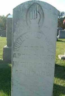 THOMPSON, JOHN C. - Gallia County, Ohio | JOHN C. THOMPSON - Ohio Gravestone Photos