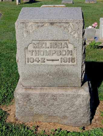 KING THOMPSON, MELISSA - Gallia County, Ohio | MELISSA KING THOMPSON - Ohio Gravestone Photos
