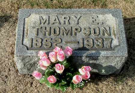 THOMPSON, MARY E - Gallia County, Ohio | MARY E THOMPSON - Ohio Gravestone Photos