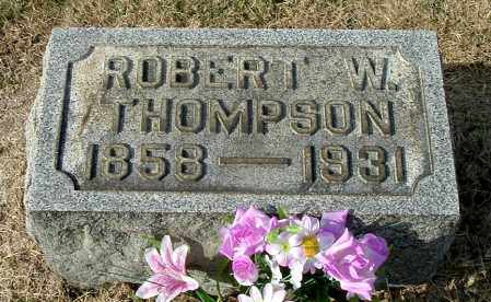 THOMPSON, ROBERT W - Gallia County, Ohio | ROBERT W THOMPSON - Ohio Gravestone Photos