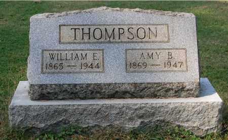 THOMPSON, WILLIAM E - Gallia County, Ohio | WILLIAM E THOMPSON - Ohio Gravestone Photos