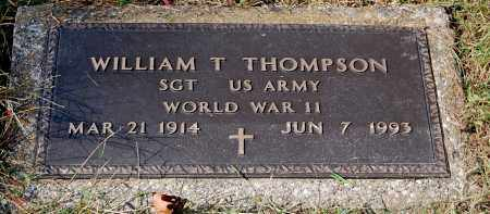 THOMPSON, WILLIAM T - Gallia County, Ohio | WILLIAM T THOMPSON - Ohio Gravestone Photos