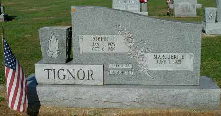 TIGNOR, ROBERT L - Gallia County, Ohio | ROBERT L TIGNOR - Ohio Gravestone Photos