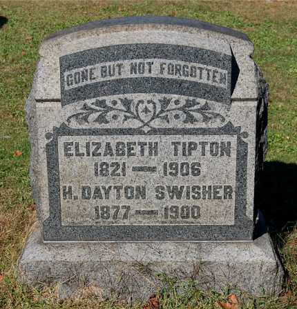 TIPTON, ELIZABETH - Gallia County, Ohio | ELIZABETH TIPTON - Ohio Gravestone Photos