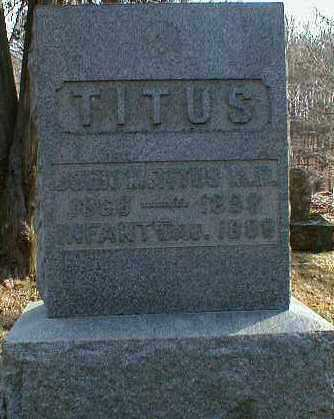 TITUS, INFANT DAUGHTER - Gallia County, Ohio | INFANT DAUGHTER TITUS - Ohio Gravestone Photos