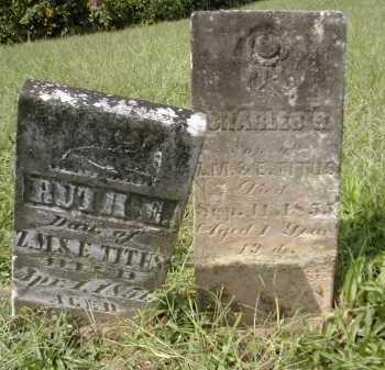 TITUS, CHARLES - Gallia County, Ohio | CHARLES TITUS - Ohio Gravestone Photos