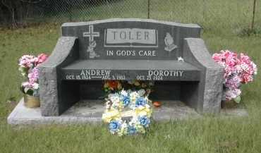 TOLER, ANDREW - Gallia County, Ohio | ANDREW TOLER - Ohio Gravestone Photos