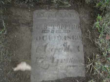 TOPPING, HEZEKIAH - Gallia County, Ohio | HEZEKIAH TOPPING - Ohio Gravestone Photos