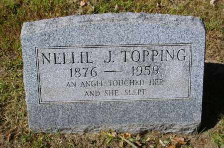 TOPPING, NELLIE - Gallia County, Ohio | NELLIE TOPPING - Ohio Gravestone Photos