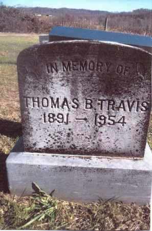 TRAVIS, THOMAS B. - Gallia County, Ohio | THOMAS B. TRAVIS - Ohio Gravestone Photos