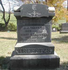 TREFFTZS, MARY - Gallia County, Ohio | MARY TREFFTZS - Ohio Gravestone Photos
