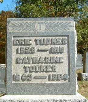 TUCKER, ERIE - Gallia County, Ohio | ERIE TUCKER - Ohio Gravestone Photos