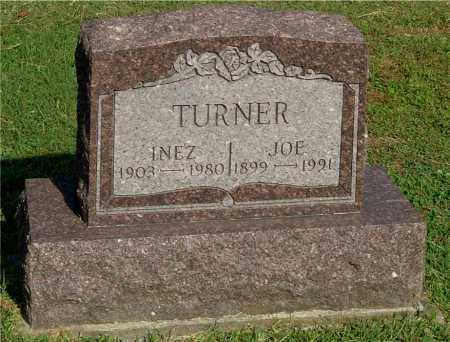 TURNER, INEZ - Gallia County, Ohio | INEZ TURNER - Ohio Gravestone Photos