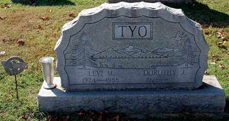 TYO, LEVI M - Gallia County, Ohio | LEVI M TYO - Ohio Gravestone Photos