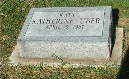 "UBER, KATHERINE ""KATY"" - Gallia County, Ohio 